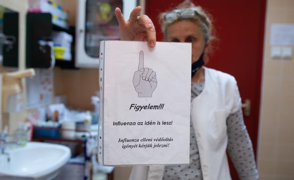 Mától lehet kérni az influenzaoltást a háziorvosoknál