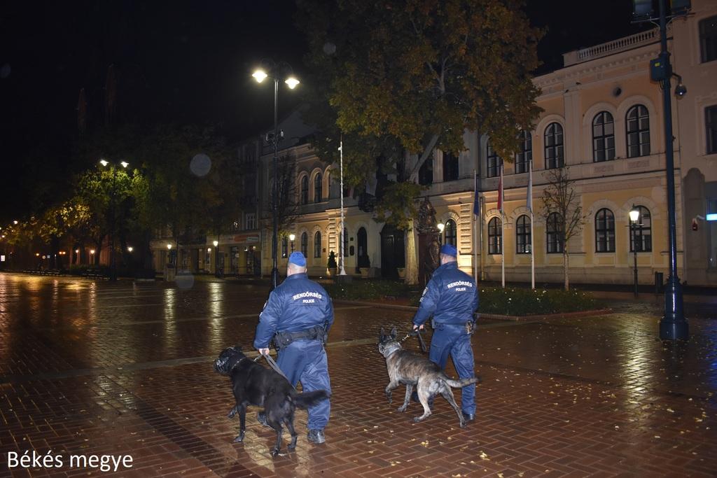 Országosan ellenőrzik az utcákat éjszakánként