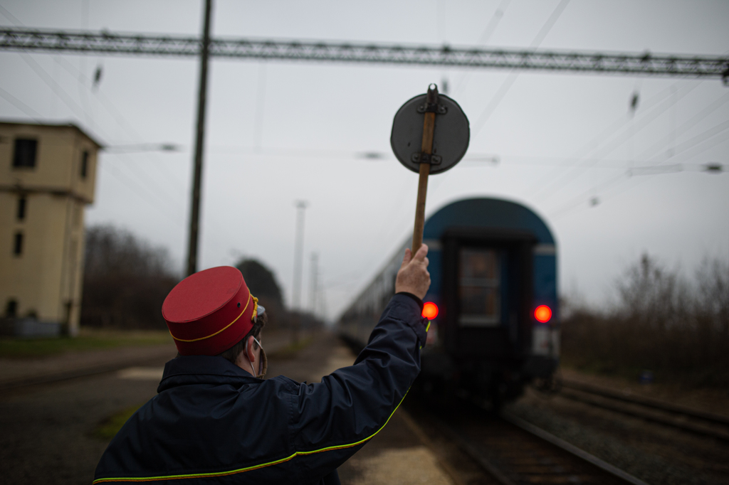 Vasútnyelven szólva: ez a vonat már elment