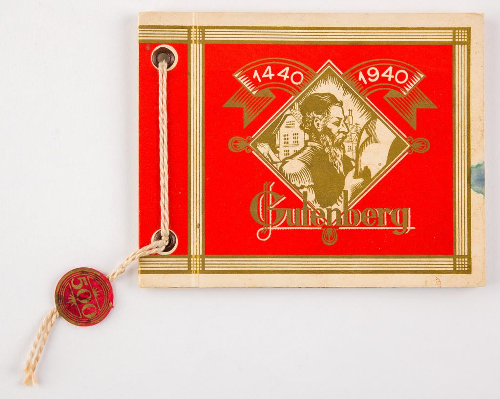 Gutenberg 1440-1940