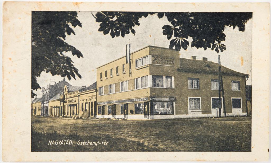 Levelezőlap – Nagyatád, Széchenyi tér