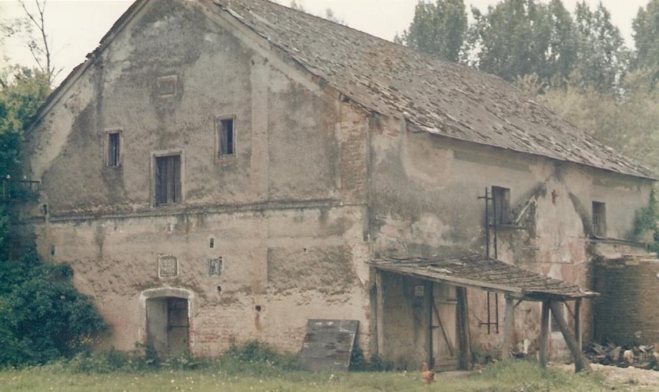 A péterhidai Ratalics-malom a felújítás előtt... (fotó: Lantos Zoltán)