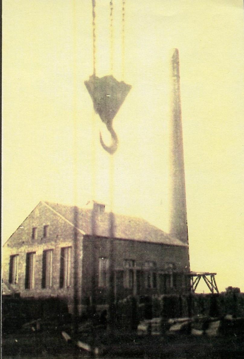 Épül az új gyár kazánháza