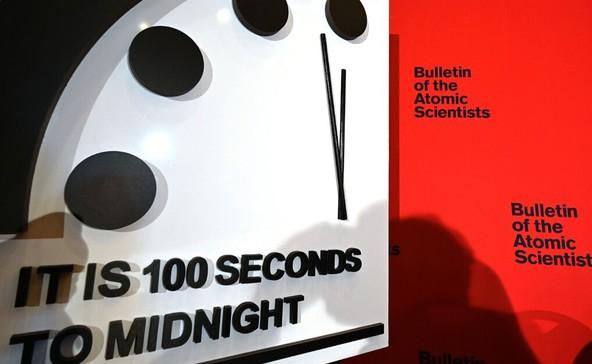 Az Ítéletnap Órája: már csak 100 másodperc az apokalipszis