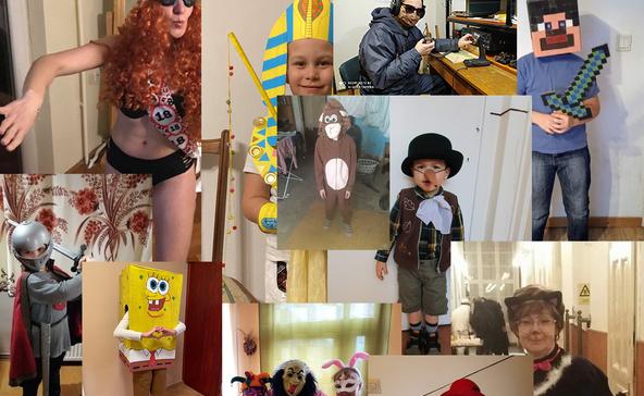 Itt vannak a nagyatádi online jelmezverseny képei