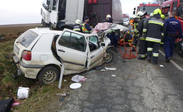 Halálos baleset történt
