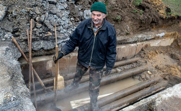 Megtalálták a szivárgást a Hunyadi utcai hővezetéken
