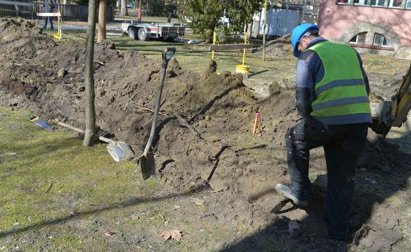 Elkezdték a geotermális fűtési rendszer kialakítását