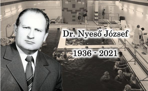 Elhunyt a nagyatádi gyógyvíz orvosa, dr. Nyeső József