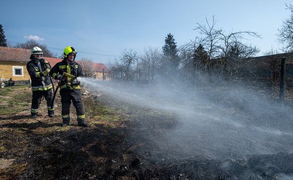 Kétszer is avartűzhöz riasztották a nagyatádi tűzoltókat