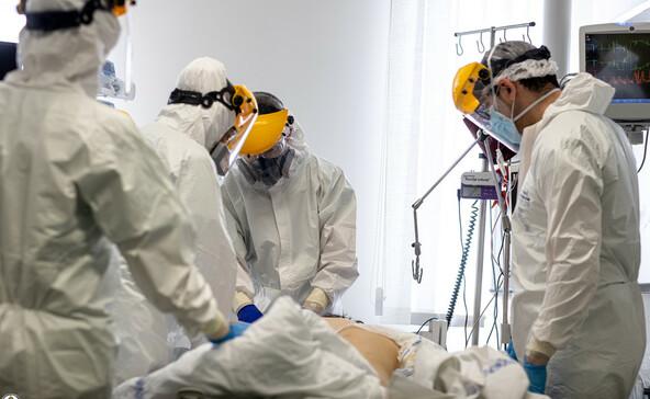 Csúcsot döntöttünk a kórházban ápoltak arányában