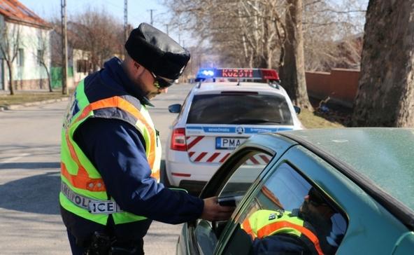 Figyelem: rendőrségi ellenőrzés Nagyatádon!