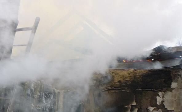 Gyorshír: kigyulladt egy családi ház Bolhón