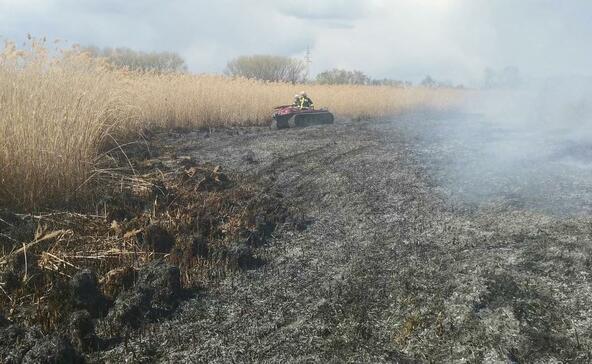45 hektáron pusztított a tűz