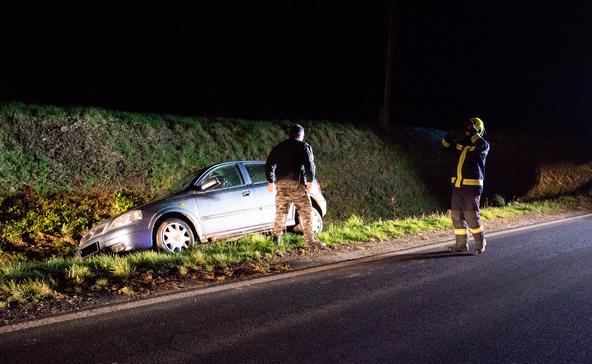 Egy ember súlyosan megsérült a balesetben