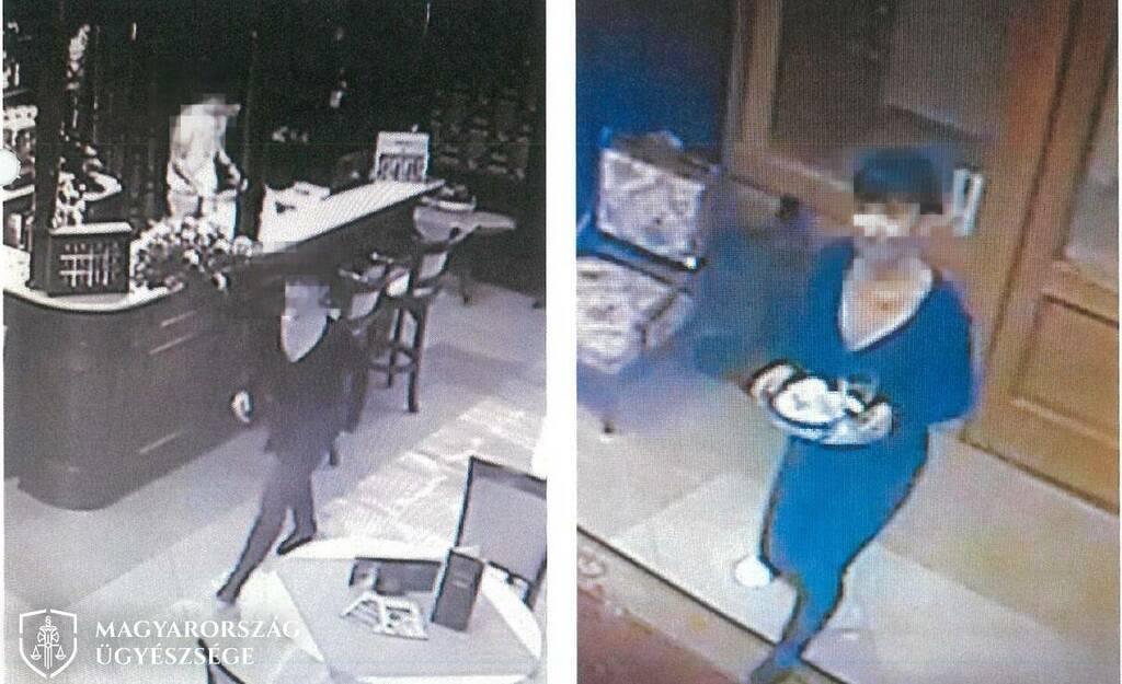 A fényképet az egyik szálloda biztonsági kamerája készítette.