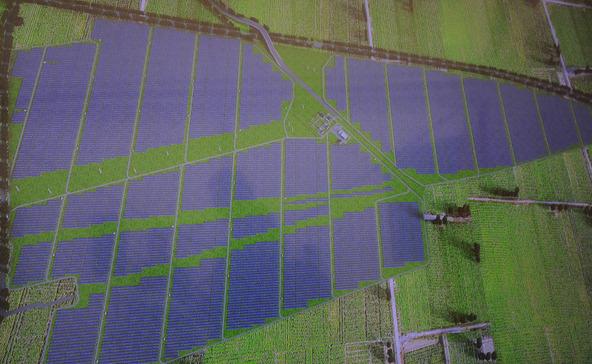 Közép-Európa legnagyobb naperőművét adták át Somogyban