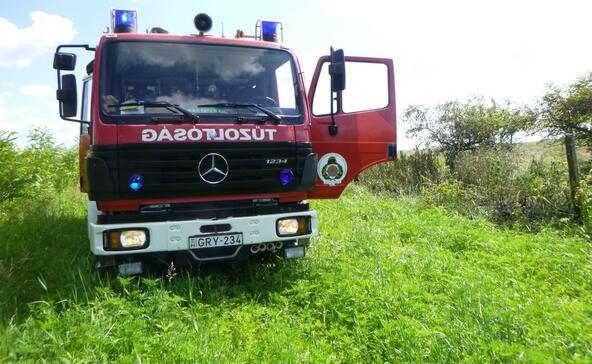 Öt szabadtéri tűzeset volt Somogyban
