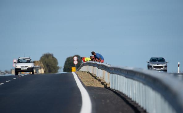 Építik a 67-es gyorsforgalmi út déli szakaszát