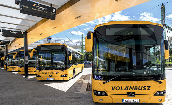 24 új buszt állít forgalomba a Volán Somogyban