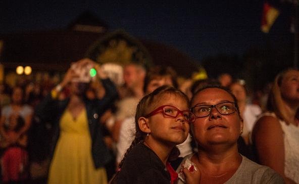 Mintegy ezren ünnepeltek augusztus huszadikán Nagyatádon