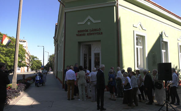 Bertók László nevét vette fel a városi könyvtár
