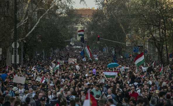 Az eddigi legnagyobb kormányellenes tüntetés