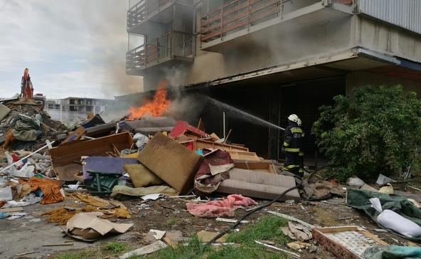 4 tűz, 10 mentés: a hétvége katasztrófamérlege