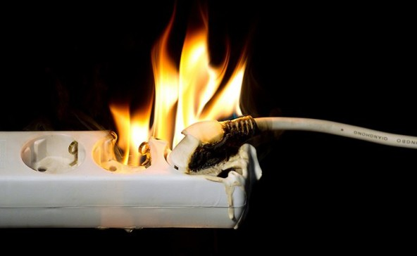 Kerüljük el az elektromos tüzeket!